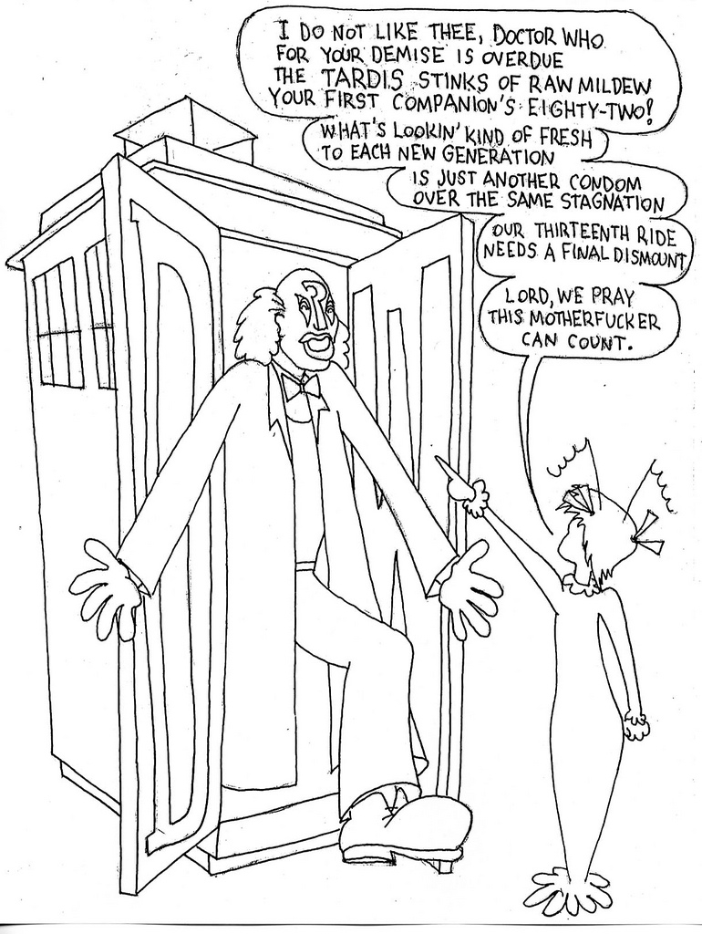 Doctor Who TARDIS Coloring Pages