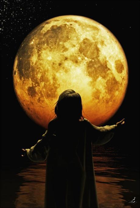 Full Moon Iiby Robert Schlenker
