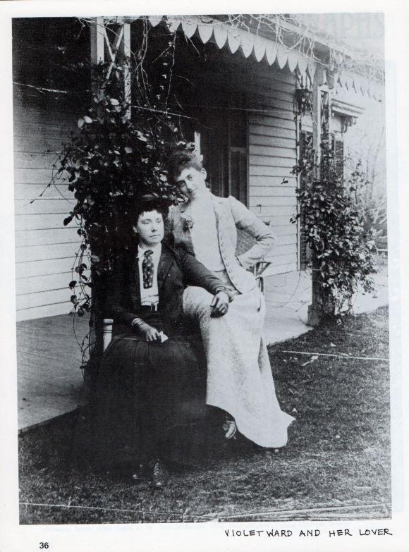 Violet Ward and Her Lover