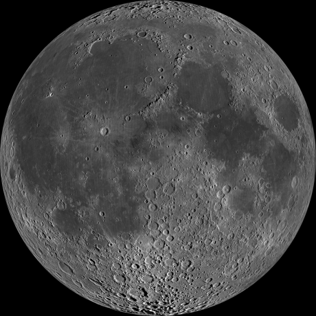 Big Moon_assembled from lunar orbiter