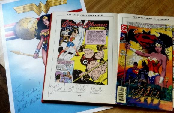 Autographs by Pete Moulton