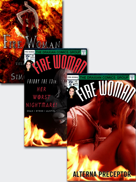 Fire Woman composite