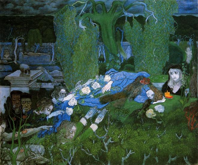 The vagabonds, 1891 Jan Toorop