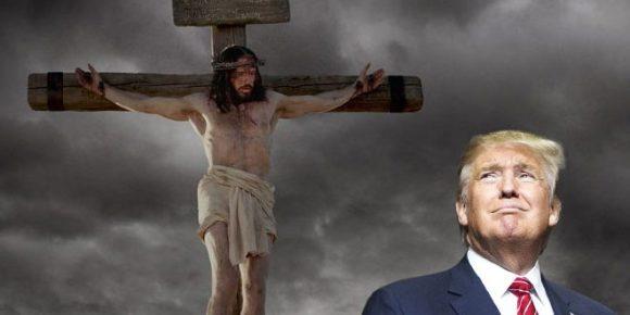 Jesus-Crucified-Donald-Trump-660x330
