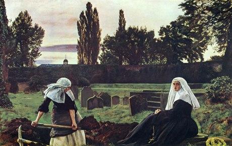 John Everette Millais_Nuns Gravedigging