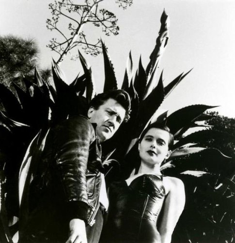 David Lynch & Isabella Rossellini (Helmut Newton, 1988)